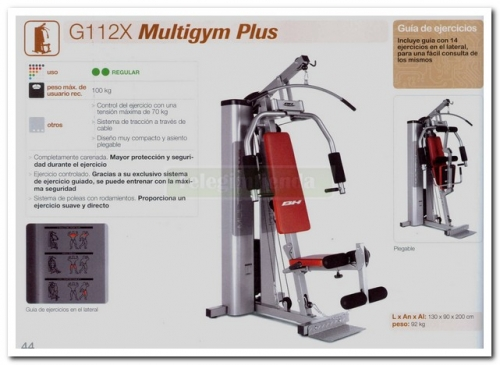 Multiestación Multigym Plus 2
