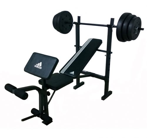 Banco Essential Strength Bench w 45kg Adidas