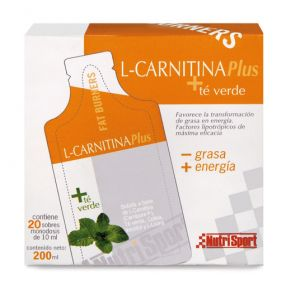 L-Carnitina Plus + Te verde