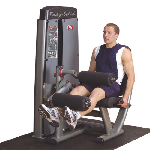 PRO DUAL LEG EXTENSION & CURL MACHINE DLEC-SF