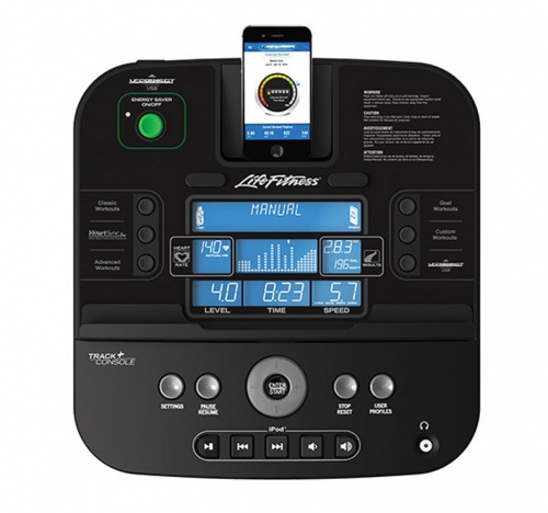 Reclinada LifeFitness RS1Track Monitor