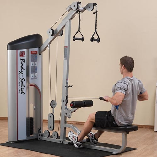 SERIES II LAT PULLDOWN & SEATED ROW S2LAT 1