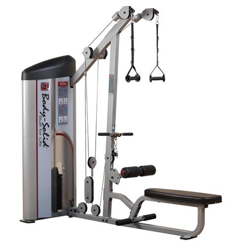 SERIES II LAT PULLDOWN & SEATED ROW S2LAT