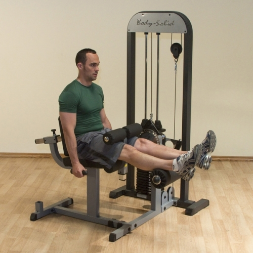 Selectorized Leg Ext. & Leg Curl Machine GCEC-STK