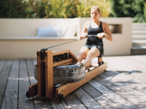 WaterRower Oak Madera de Roble 11