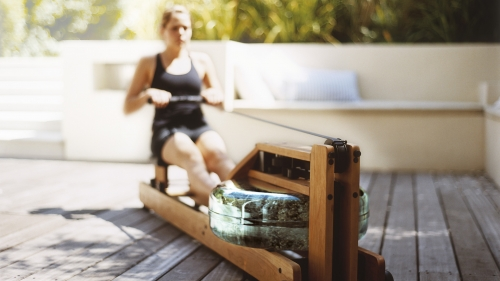 WaterRower Oak Madera de Roble 12