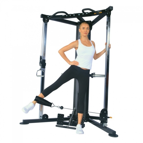 functrional trainer back powertec ejercicio 2