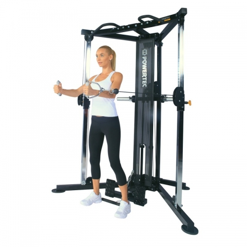 functrional trainer back powertec ejercicio
