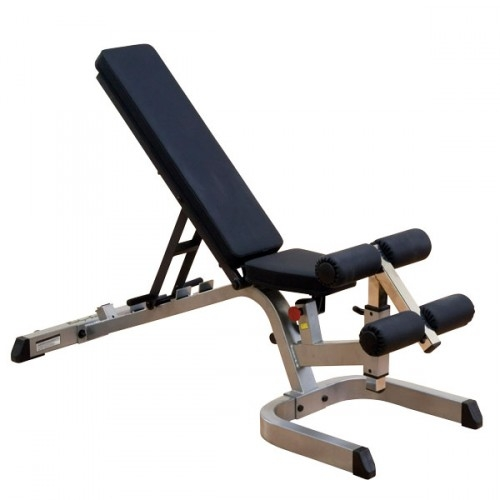 Body Solid Banco Declinado/Inclinado/Plano Heavy Duty GFID71