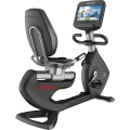 Bicicleta Reclinable Life fitness Platinum Club Series Discover SE Arctic Silver
