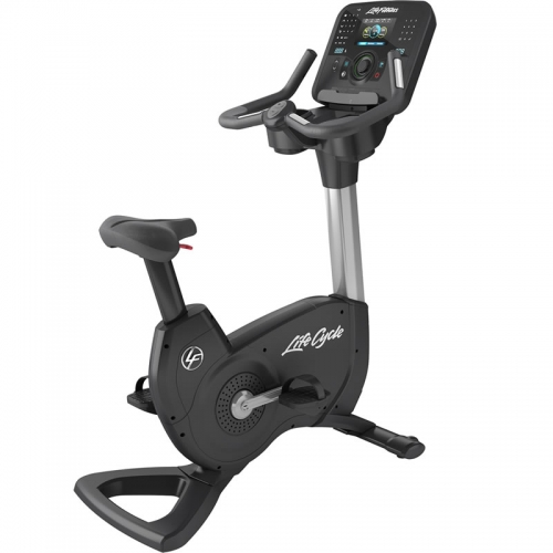 Life Fitness Club Platinum Series Upright Bike Explora WIFI