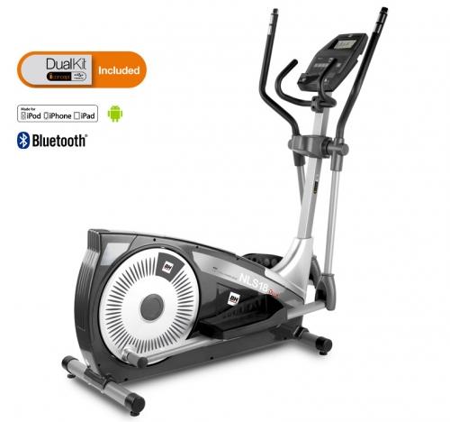 Bicicleta Eliptica BH NLS18 Dual + Dual Kit BE